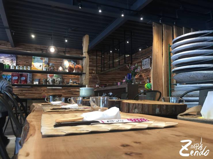 山芙蓉:  餐廳 by Zendo 深度空間設計