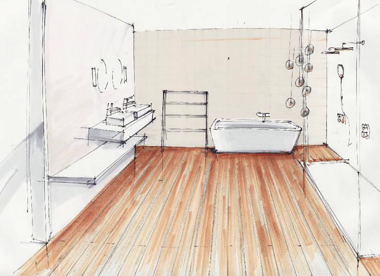 Phòng tắm by OXIT GmbH - Innenarchitekten in Stuttgart