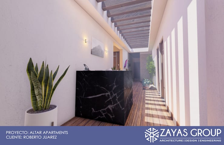 Zayas Group의  서재 & 사무실