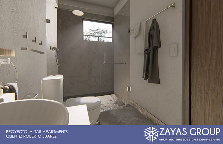 Bathroom by Zayas Group