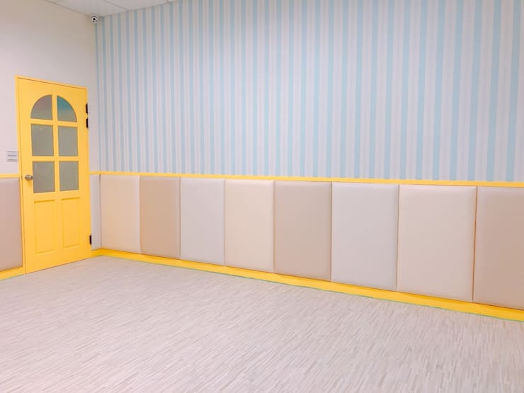 教室防撞繃布:  學校 by 藏私系統傢俱