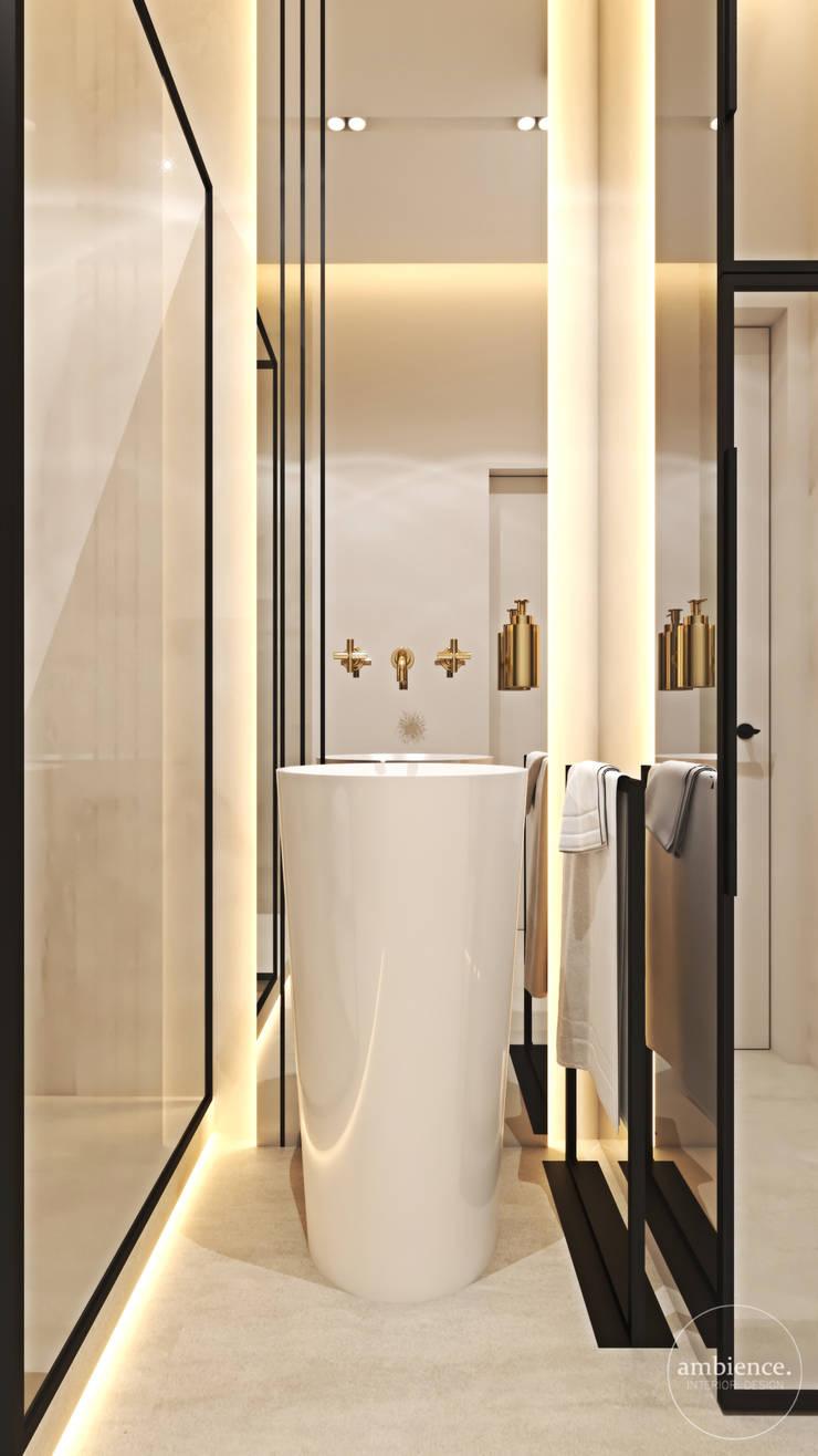 Penthouse w Warszawie: styl , w kategorii Łazienka zaprojektowany przez Ambience. Interior Design