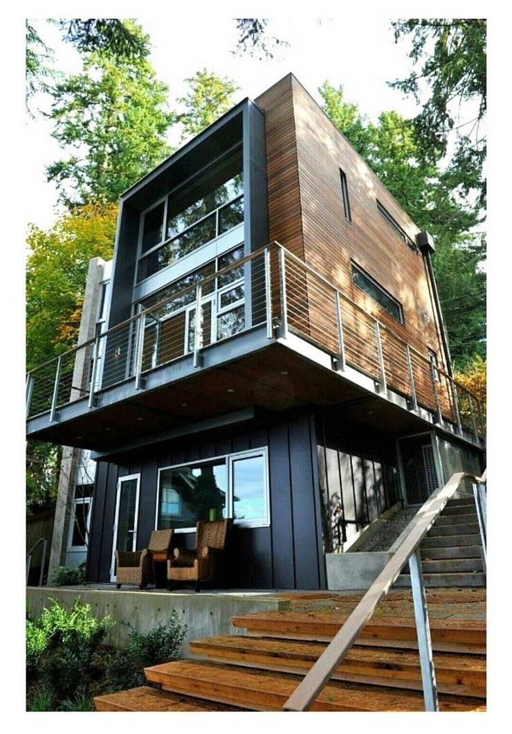 레지메이드 3층: 스마트주방의  전원 주택,