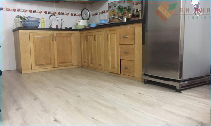 Sàn gỗ công nghiệp cho phòng bếp chung cư?:   by Kho Sàn Gỗ An Pha