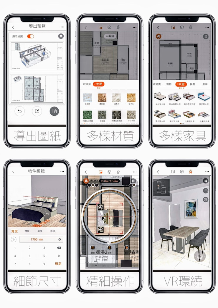 智能測量系統-完美布局:   by 知森數位開發有限公司