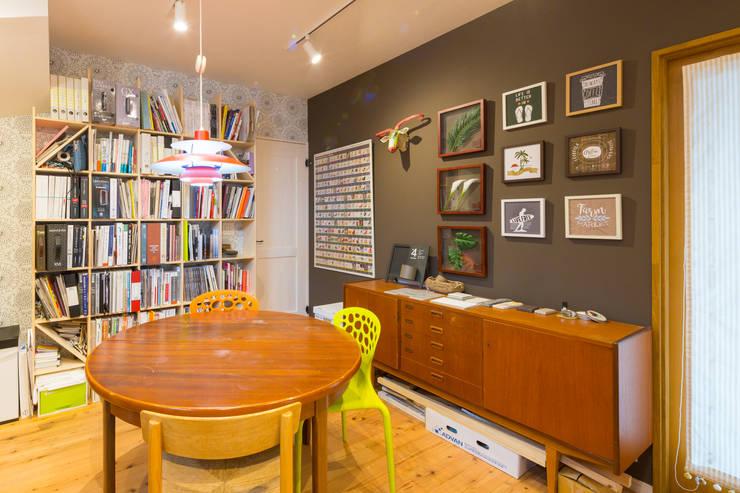 Oficinas de estilo  por 株式会社アートアーク一級建築士事務所, Ecléctico