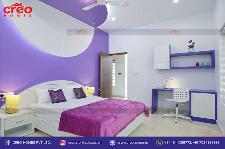 Bedroom by CreoHomes Pvt Ltd