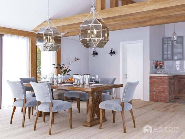 Столовая: Столовые комнаты в . Автор – Архитектурная студия 'АВТОР'