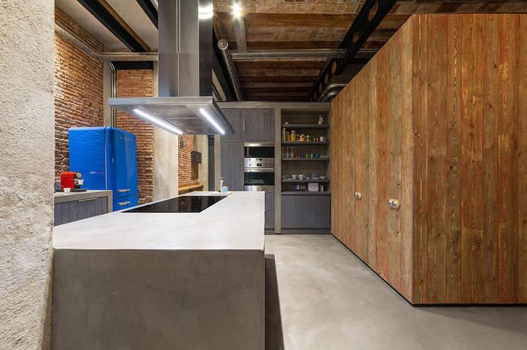 مطبخ ذو قطع مدمجة تنفيذ Vip Dekorasyon