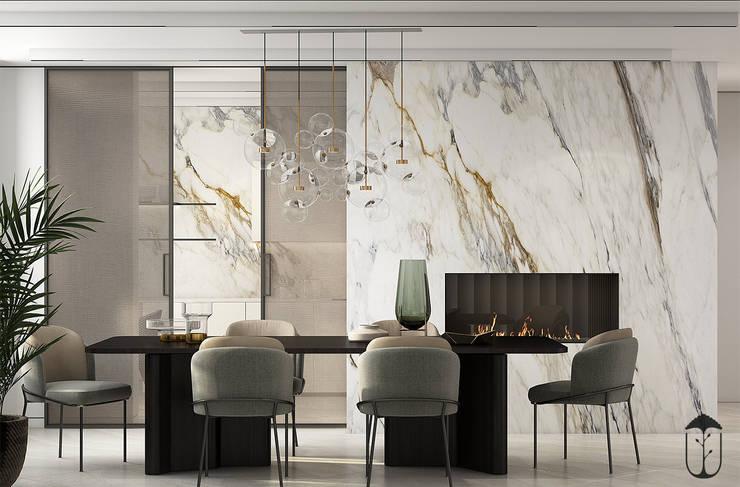 Salas de estilo ecléctico de U-Style design studio Ecléctico