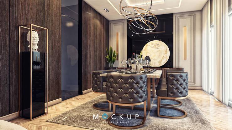 East town – Sodic:  غرفة السفرة تنفيذ  Mockup studio