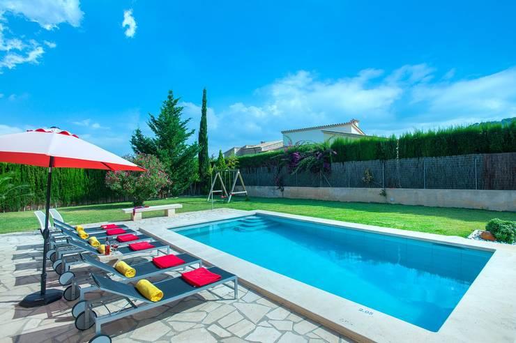 Garden Pool by Diego Cuttone, arquitectos en Mallorca,