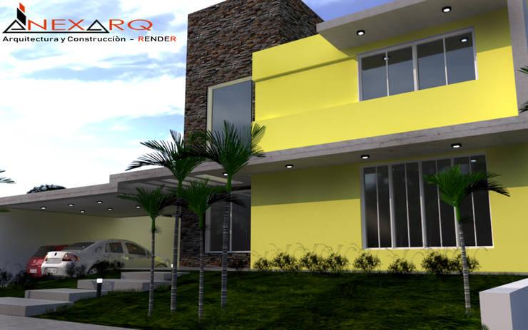 """Proyecto  – Barrio """"Siete Soles"""" Córdoba:  de estilo  por AnexArq,"""