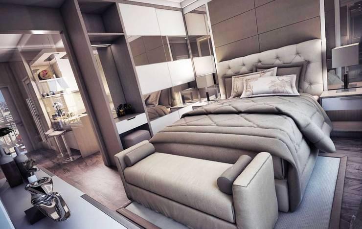 Lemari pakaian built in:  Bedroom by Maxx Details
