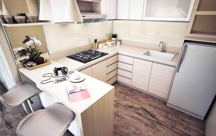 Kitchen set:  Dapur built in by Maxx Details