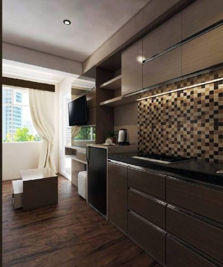 Apartemen The Jarrdin Bandung:  Dapur by Maxx Details