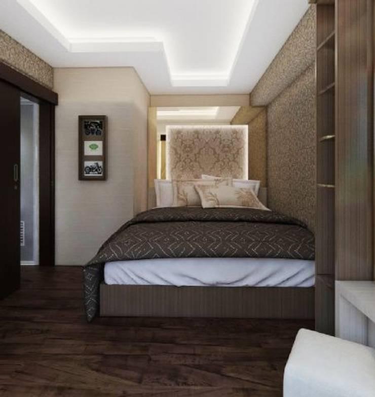 Apartemen The Jarrdin Bandung:  Kamar Tidur by Maxx Details