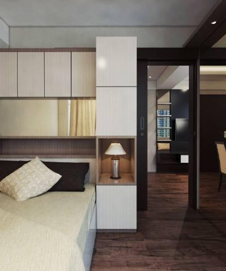 Apartemen The Jarrdin Bandung:  Koridor dan lorong by Maxx Details