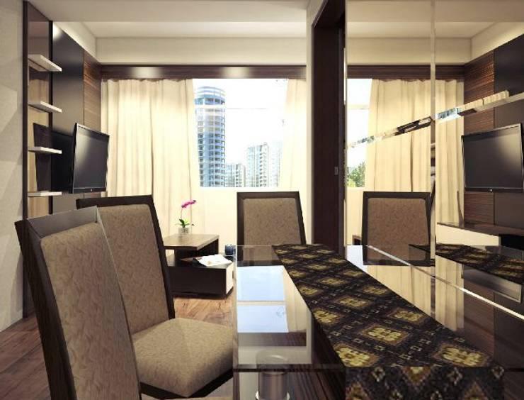 Apartemen The Jarrdin Bandung:  Ruang Makan by Maxx Details