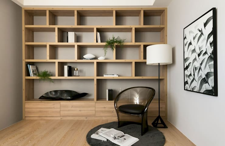 瀞若.覓謐 |Sequestered Reality:  牆面 by 理絲室內設計有限公司 Ris Interior Design Co., Ltd.
