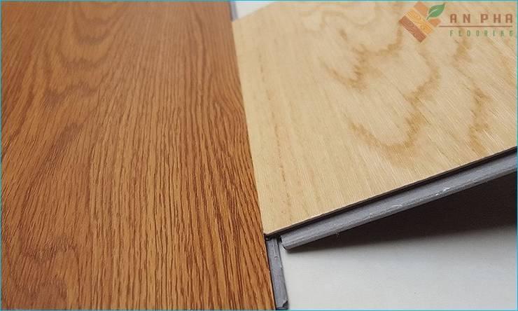 Thiết kế cầu thang với sàn gỗ công nghiệp:   by Kho Sàn Gỗ An Pha