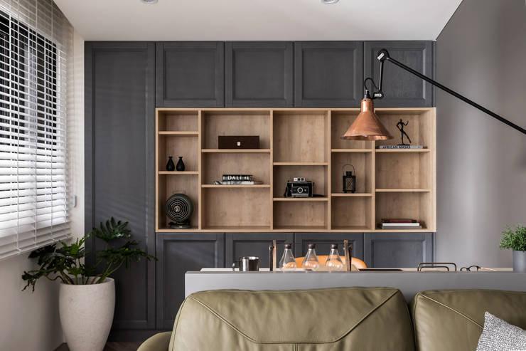 陸層:  牆面 by 寓子設計