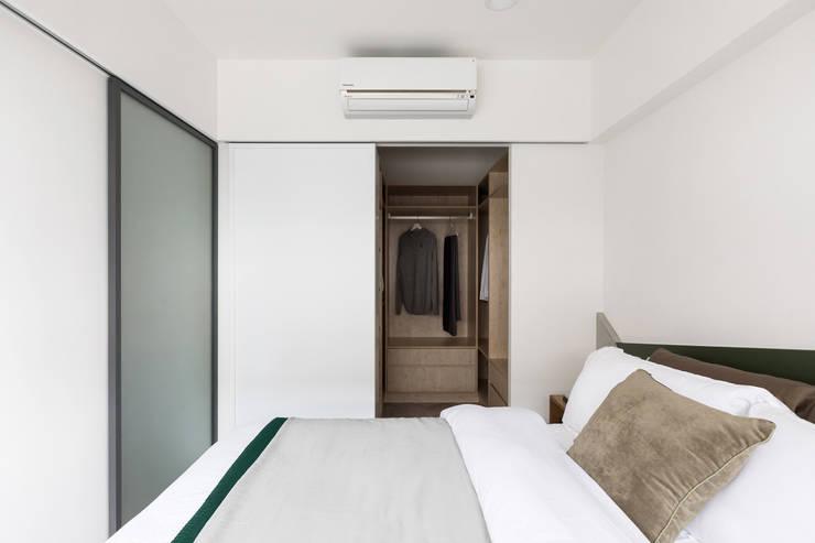 陸層:  臥室 by 寓子設計
