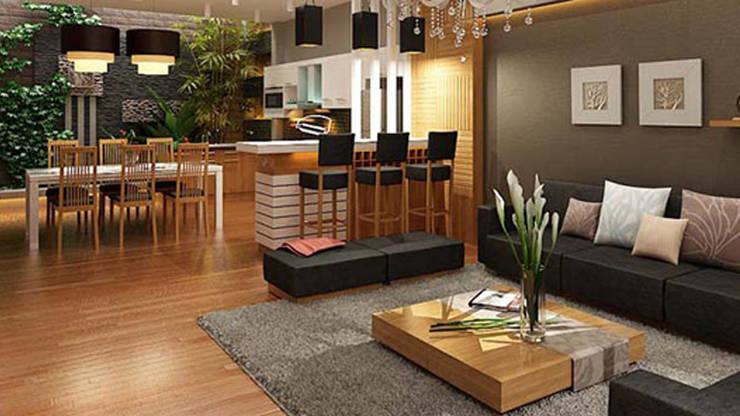 Cách chọn sàn gỗ cho phòng có diện tích nhỏ:   by Kho Sàn Gỗ An Pha