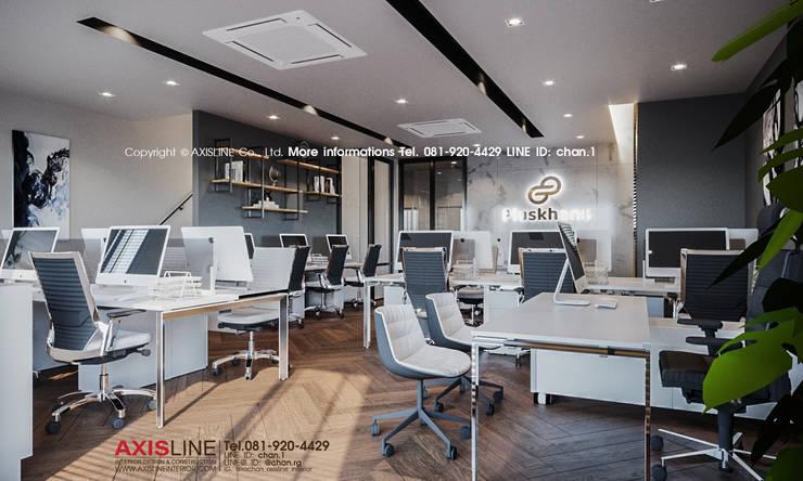 Interior design : ออกแบบตกแต่งภายใน Perspective3D (คุณคุณณัฐธยาน์) :  ตกแต่งภายใน by บริษัทแอคซิสลาย จำกัด