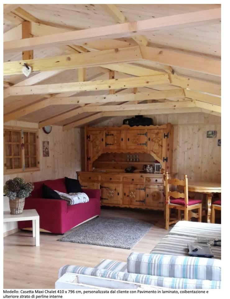 Home Idea Italia Srl Casette Maxi Chalet Homify