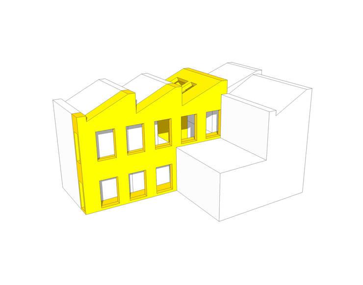 VISTA HOUSE: 건축사사무소 모뉴멘타의  ,