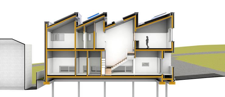 단면 1: 건축사사무소 모뉴멘타의