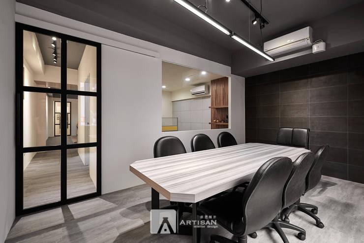 會議室:  辦公室&店面 by 芸匠室內裝修設計有限公司