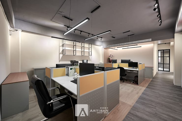 辦公室:  辦公室&店面 by 芸匠室內裝修設計有限公司