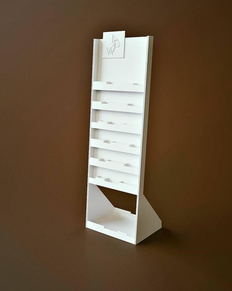 Modelado en 3D: Vestíbulos, pasillos y escaleras de estilo  por Rodrigo León Palma