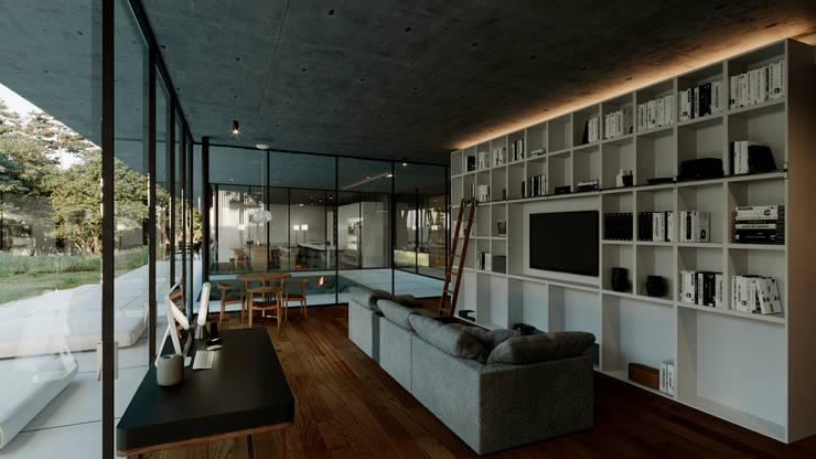 Estudio: Estudio de estilo  por TW/A Architectural Group