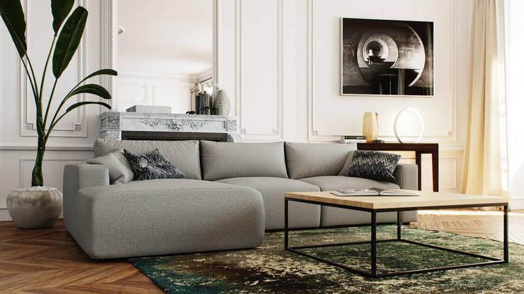 Modernes Sofa Ecksofa Schlaffunktion Couch von Isladesign | homify