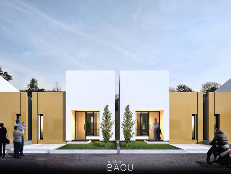 Selindung Indah:  Rumah kecil by Atelier BAOU+