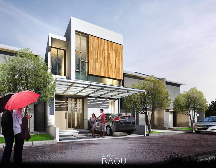 CC House:  Rumah tinggal  by Atelier BAOU+