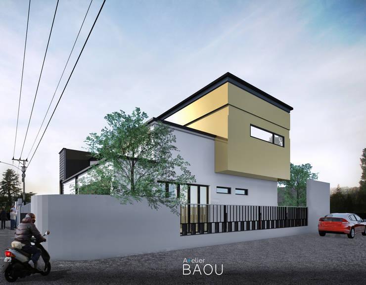 KP HOUSE:  Villa by Atelier BAOU+