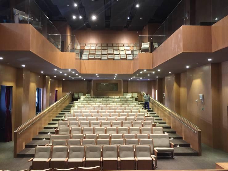 Platéia e Mezanino:   por Carlos Eduardo de Lacerda Arquitetura e Planejamento