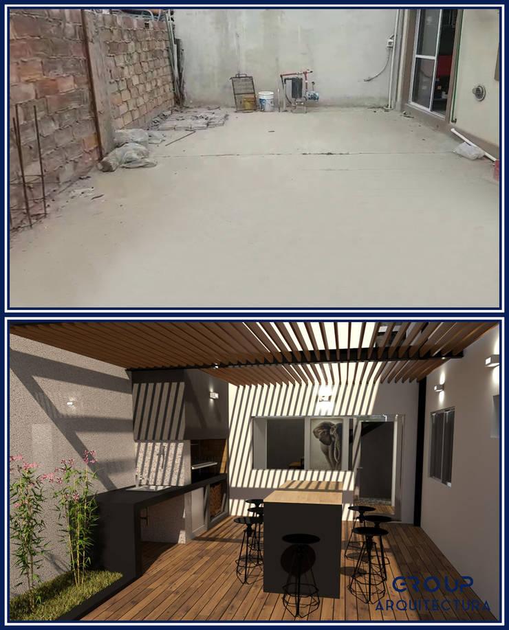 REFORMA L|L: Jardines de estilo  por Group Arquitectura Online,