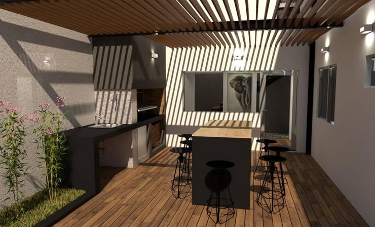 REFORMA L|L: Casas de estilo  por Group Arquitectura Online,