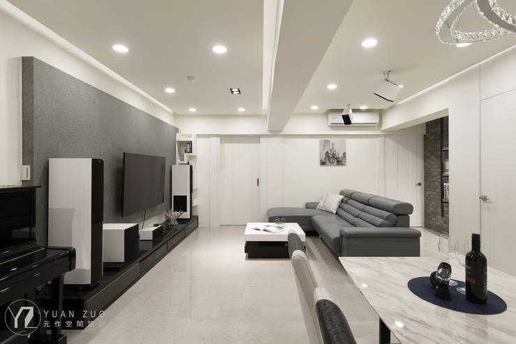 Livings de estilo  por 元作空間設計 , Moderno