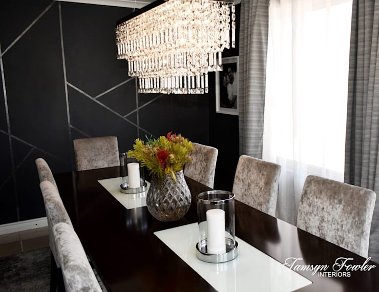 Modern dining room by Tamsyn Fowler Interiors Modern