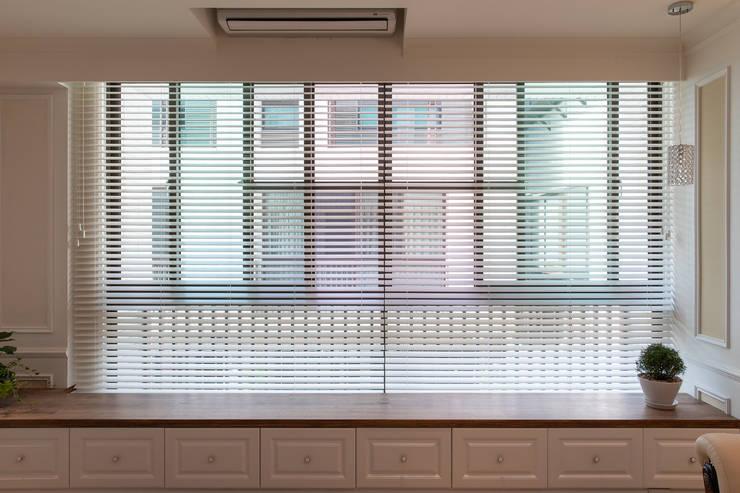 對話:  百葉窗 by 松泰室內裝修設計工程有限公司