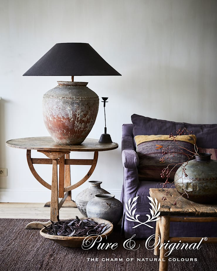 Phòng khách theo Pure & Original, Đồng quê