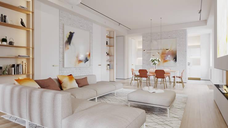 Living room by Suiten7