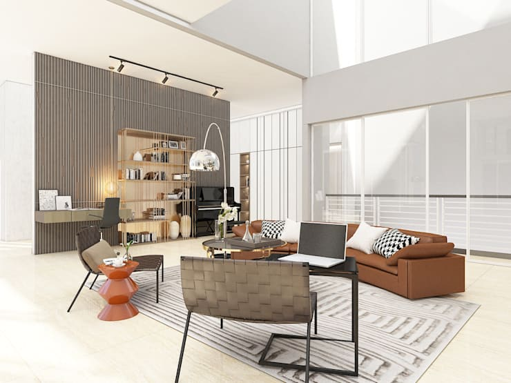 Mimo Residental Project - 1st Floor  :   by PT. Mimo Interior Asia