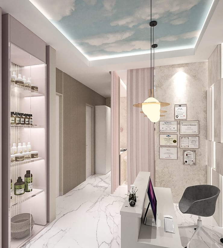 Mimo Commercial Project – Beauty Studio :   by PT. Mimo Interior Asia